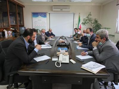 جلسه شورای معاونین استان با حضور مدیر کل دفتر وزارتی ، وزارت صمت آقای دکتر صبوری