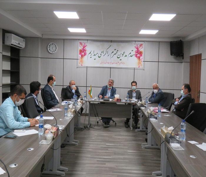 جلسه شورای اداری سازمان با حضور مهندس قوانلو