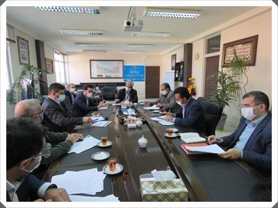 جلسه بررسی سوخت معادن استان