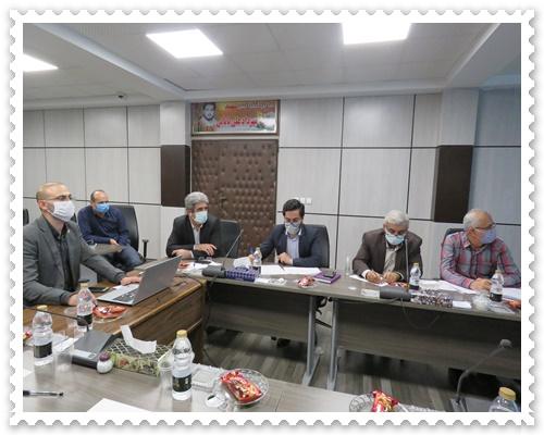 جلسه بازگشایی مزاید معدن در سازمان صمت مازندران