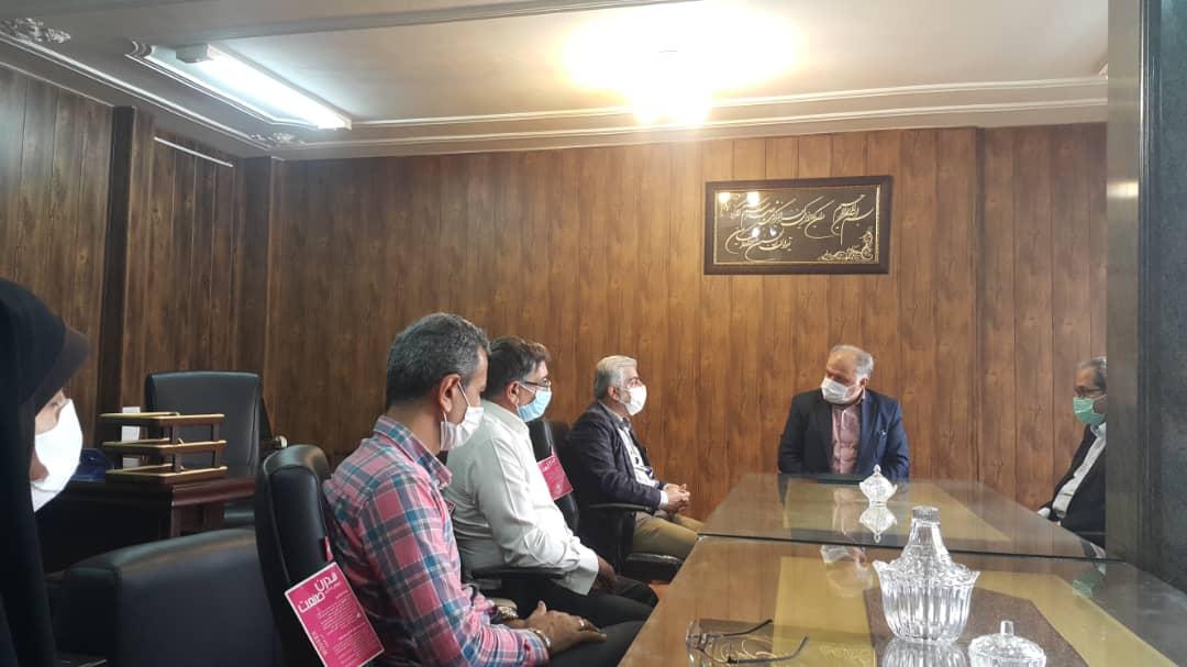 برگزاری مراسم تودیع و معارفه رئیس اداره صنعت،معدن و تجارت شهرستان ساری