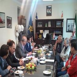 بازدید دکتر محمد پور از شرکت کشتیسازی پرگاسیران